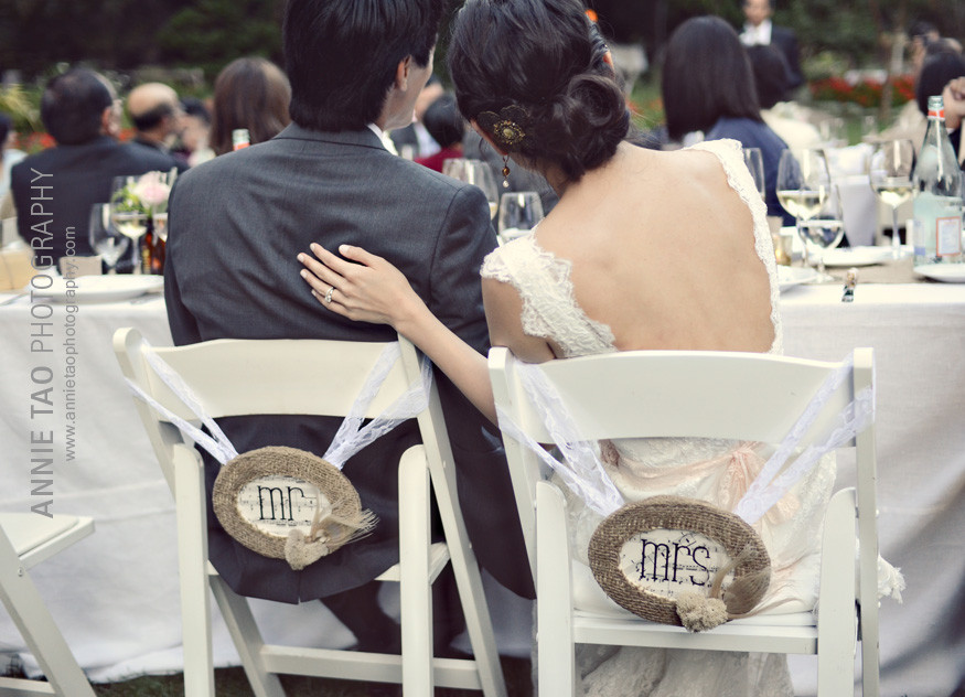 Los-Altos-Wedding-Photography-reception-Nestldown-Mr-and-Mrs-chair-signs