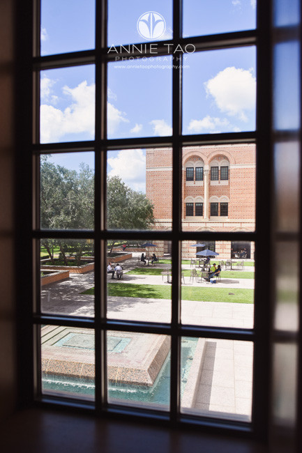 Commercial-Photography-Rice-Business-School-view-of-courtyard-from-window