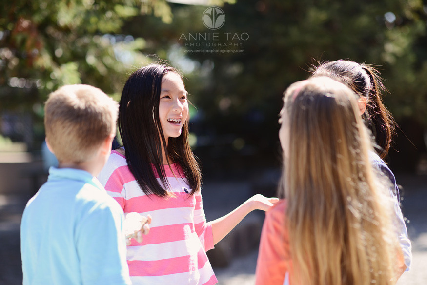 Bay-Area-Los-Altos-Commercial-Photography-group-of-students-talking-outside