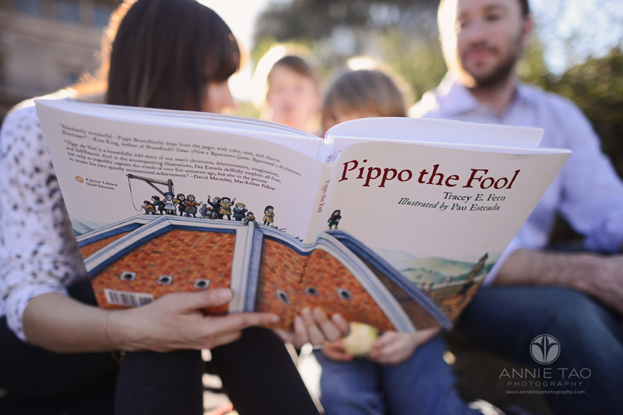 Bay-Area-styled-family-photography-book-during-family-storytime