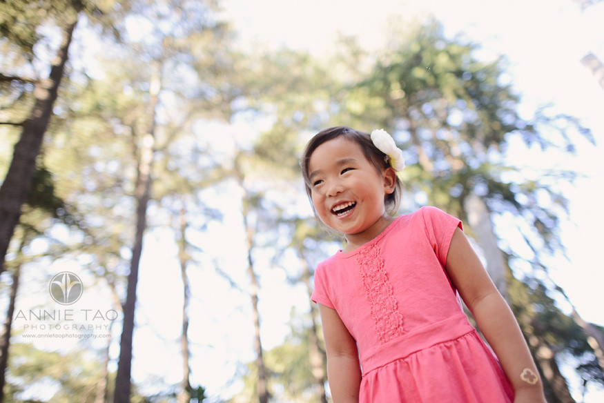 San-Francisco-Bay-Area-Peninsula-lifestyle-children-photography-young-girl-among-tall-trees