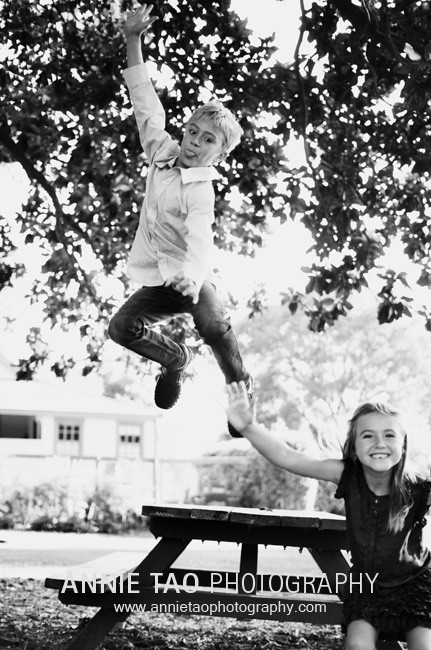 South-Bay-lifestyle-family-photography-kids-jumping-off-bench