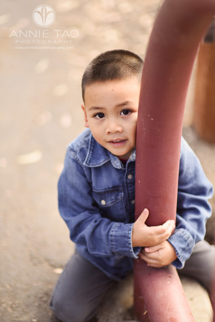 South-Bay-lifestyle-children-photography-young-boy-holding-bridge