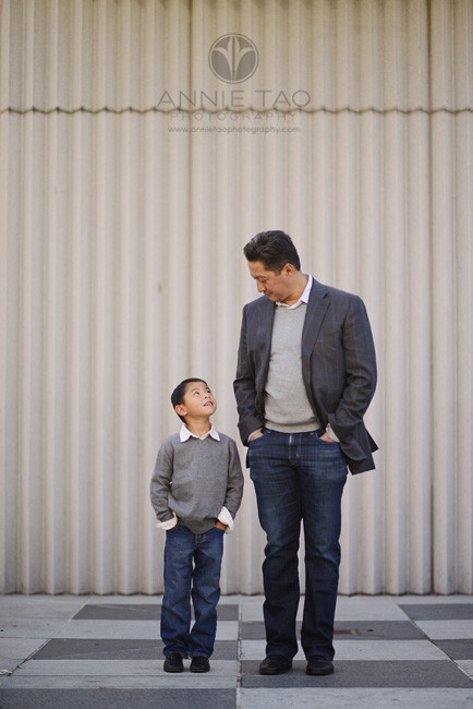San-Francisco-lifestyle-family-photography-father-and-son-striking-a-pose