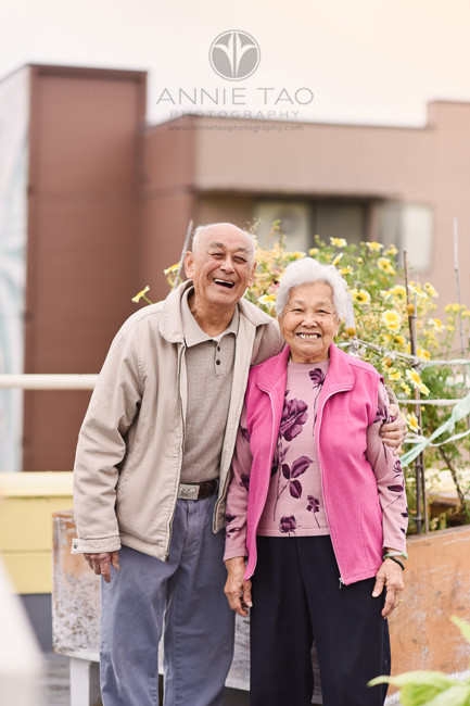 San-Francisco-commercial-photography-smiling-senior-married-couple-on-rooftop-garden