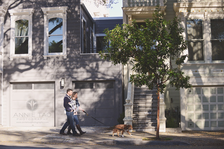 san-francisco-lifestyle-family-photography-family-walking-in-city-with-baby-and-furbaby