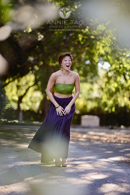 East-Bay-styled-photography-woman-with-short-hair-full-skirt-laughing
