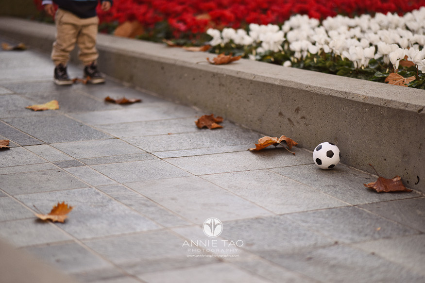 san-francisco-lifestyle-children-photography-toddler-walking-towards-soccer-ball