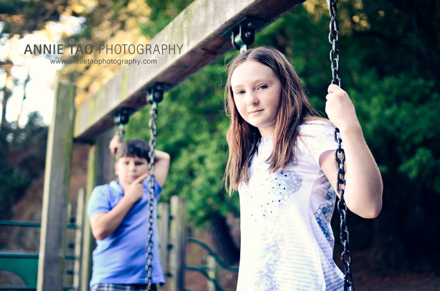 East-Bay-lifestyle-children-photography-kids-standing-on-swings
