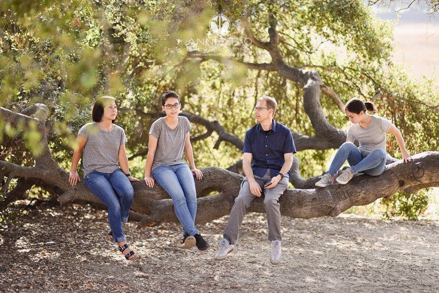 Bay-Area-lifestyle-family-teen-photography-relaxing-on-tree-branch