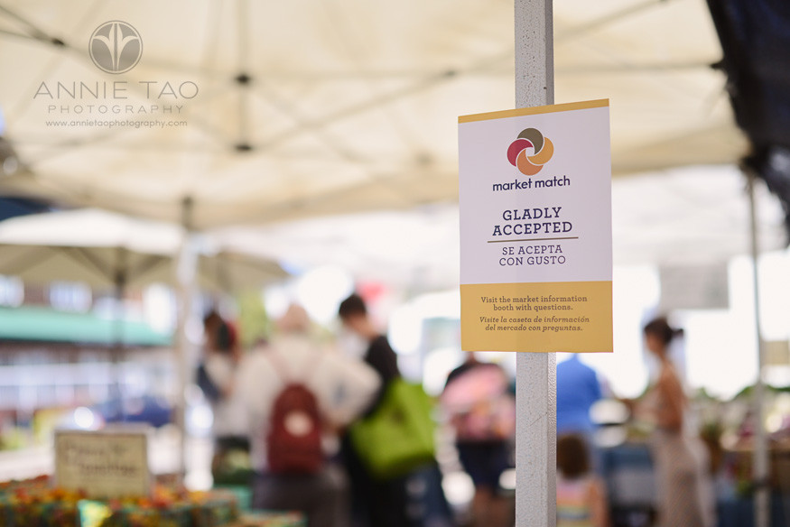 East-Bay-Commercial-Photography-Ecology-Center-Market-Match-sign-at-Berkeley-farmers-market