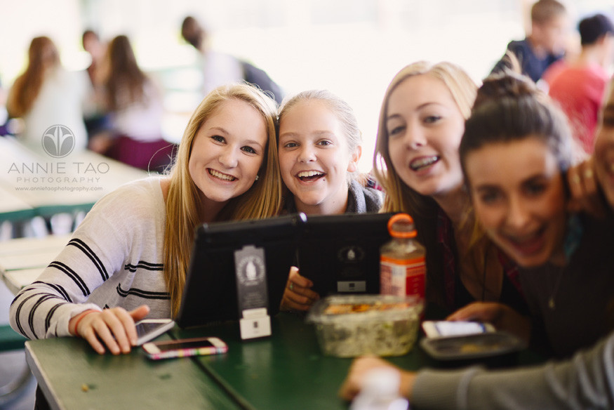 Bay-Area-Los-Altos-Commercial-Photography-students-during-lunch-period