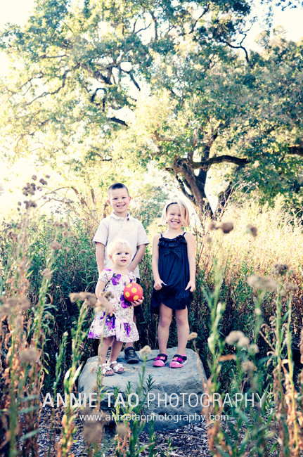 East-Bay-Family-Photography-kids-standing-on-one-rock