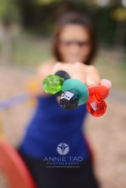East-Bay-styled-photography-woman-punching-with-ringpops