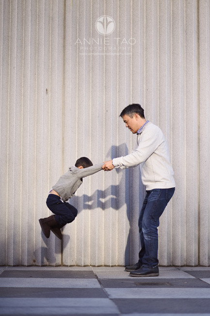 San-Francisco-lifestyle-family-photography-father-swinging-son-downtown