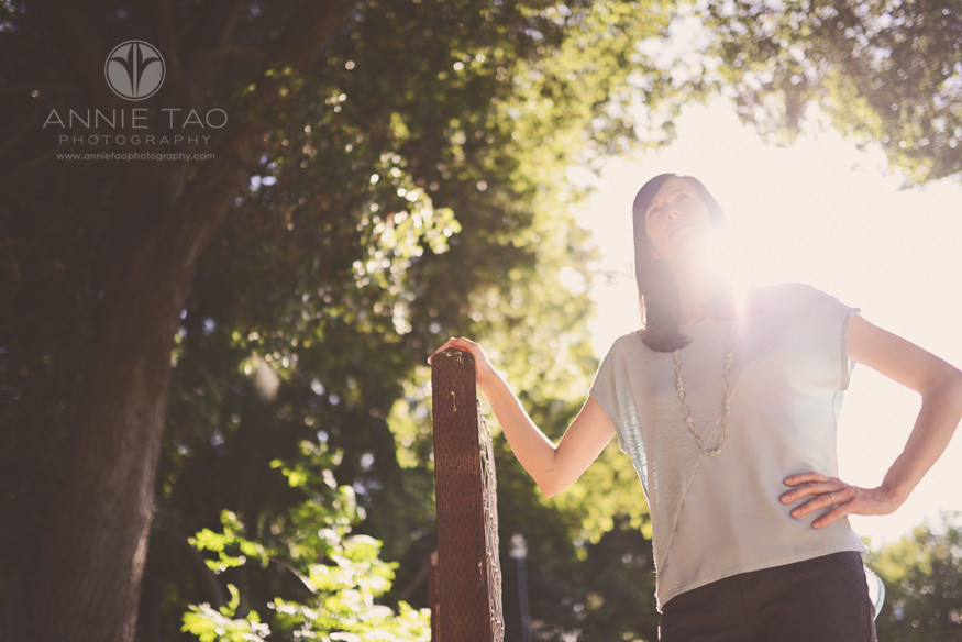 East-Bay-lifestyle-photography-super-mom-standing-with-sunflare