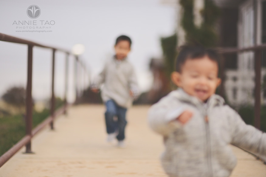 East-Bay-lifestyle-children-photography-young-boys-racing-in-a-blur