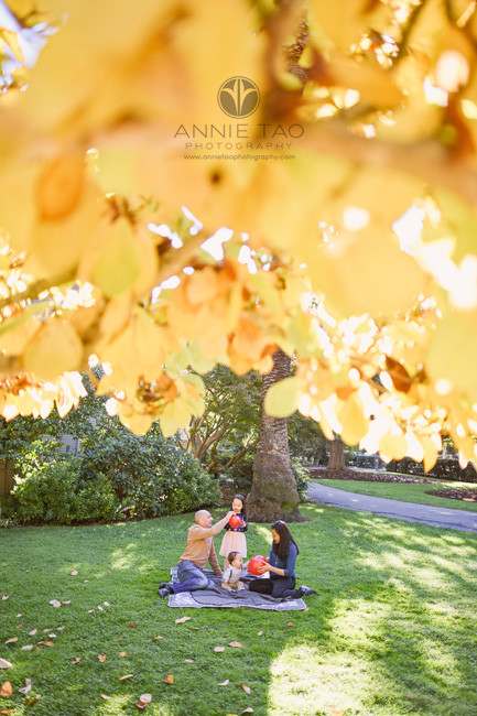 Bay-Area-lifestyle-family-photography-family-sitting-in-grass-with-autumn-leaves
