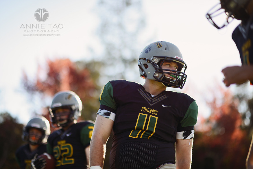 Bay-Area-Los-Altos-Commercial-Photography-high-school-football-team-player-looking-to-side