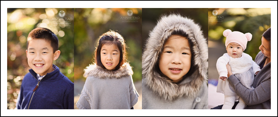 east-bay-lifestyle-children-photography-four-siblings-sidebyside-headshots