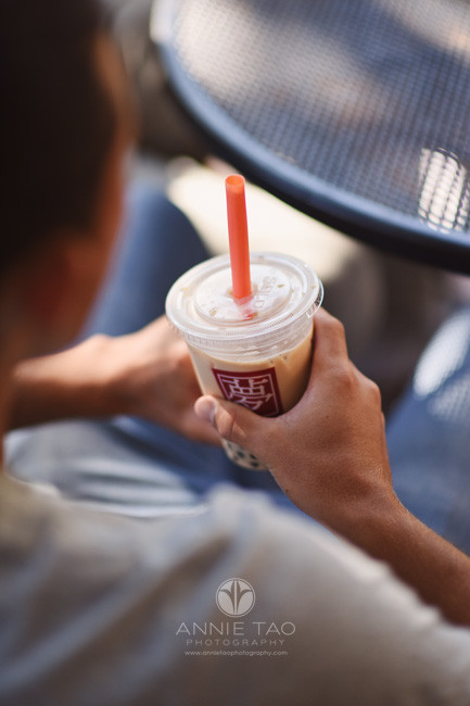 San-Jose-lifestyle-teen-photography-boy-holding-bubble-tea-drinks