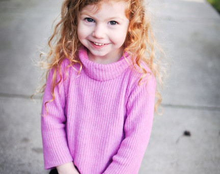 Toddler Model Photography:  Show Personality