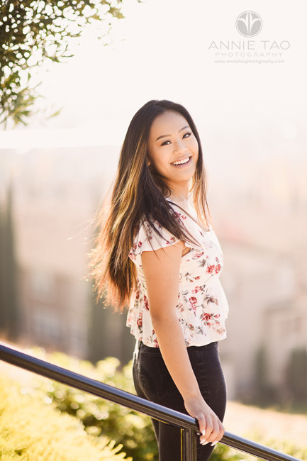 South-Bay-lifestyle-teen-photography-senior-girl-with-flowy-long-hair-in-sun