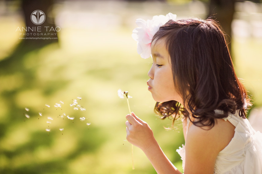 East-Bay-styled-children-photography-young-girl-with-dandelion-2