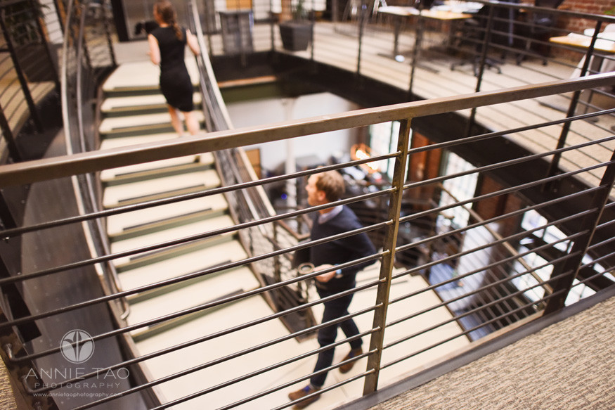 San-Francisco-commercial-photography-office-metal-stairs-railing