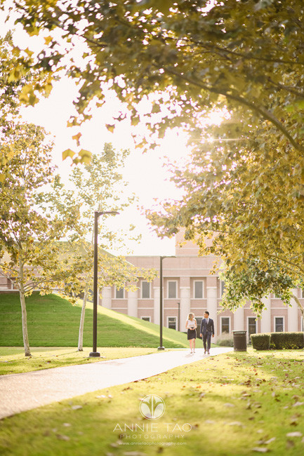 Houston-commercial-photography-business-school-students-walking-on-campus-distant