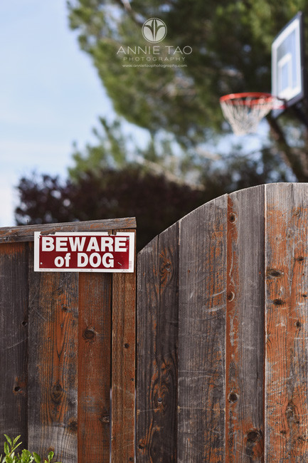 San-Francisco-Bay-Area-lifestyle-pet-photography-beware-of-dog-sign-backyard