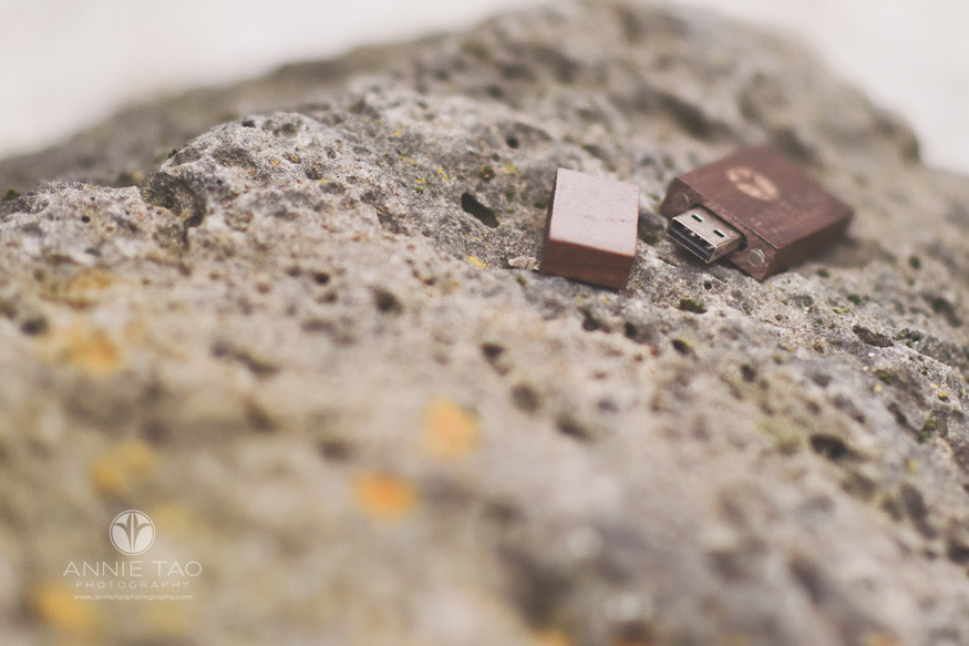 Annie-Tao-Photography-product-walnut-flash-drive-on-coral