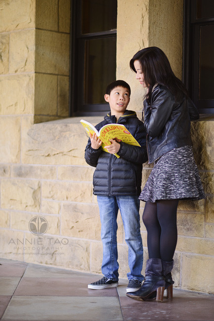 Bay-Area-Palo-Alto-family-lifestyle-photography-boy-showing-mother-his-book