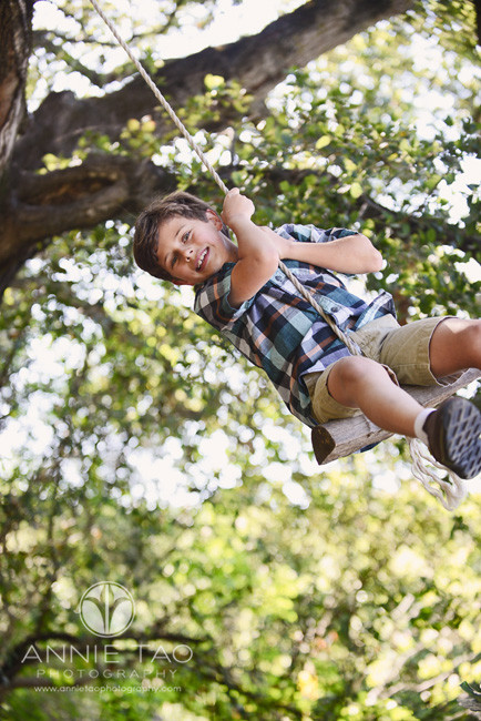 South-Bay-lifestyle-children-photography-young-boy-in-a-tree-swing