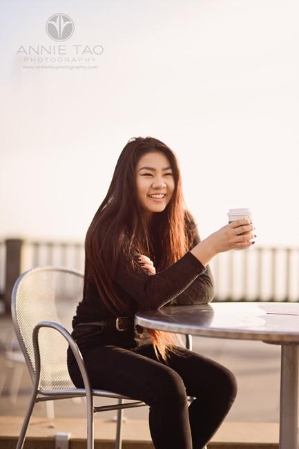 San-Francisco-senior-photography-teen-girl-drinking-coffee-in-morning-fog-closeup