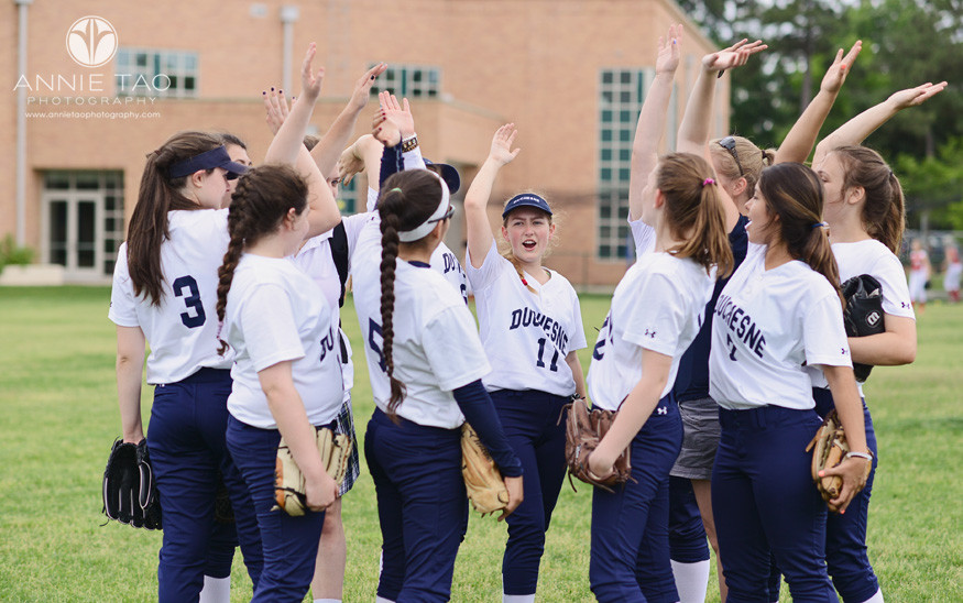Commercial-sports-photography-girls-softball-team