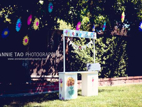 DIY Ice Cream Stand Birthday Party