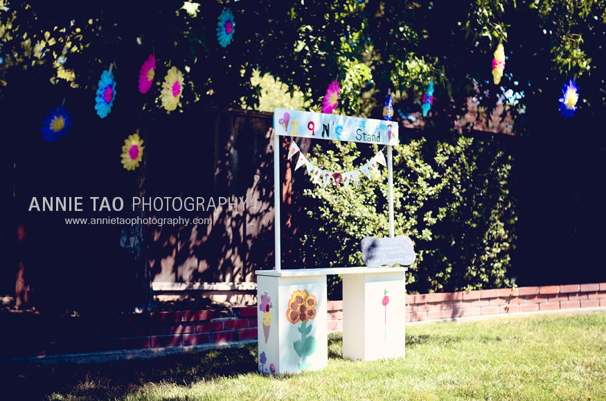 Bay-Area-Childrens-Birthday-the-ice-cream-stand-with-flowers