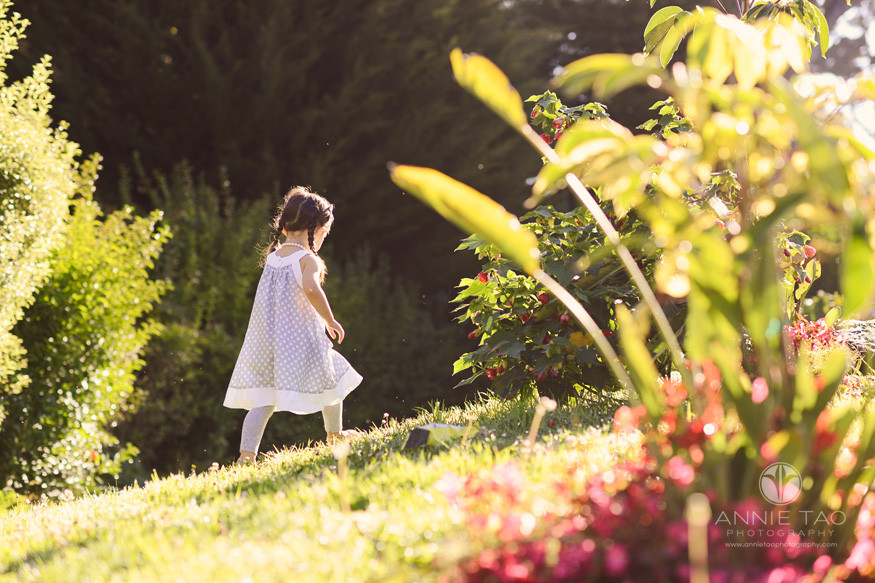san-francisco-lifestyle-children-photography-young-girl-walking-up-garden-hill