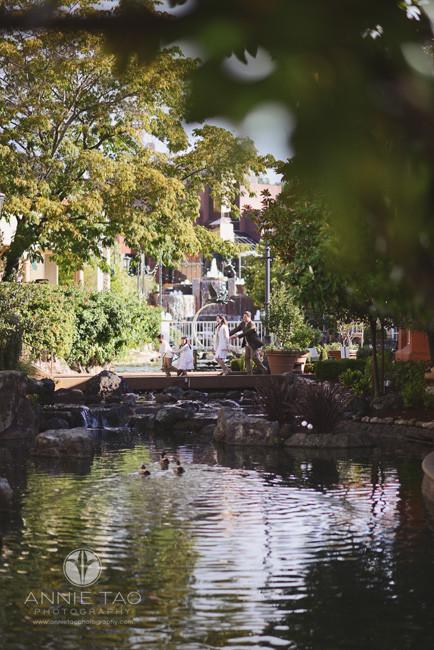 East-Bay-lifestyle-family-photography-family-pretending-to-be-ducks-on-bridge