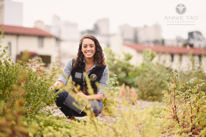 San-Francisco-commercial-photography-golden-gate-national-parks-conservancy-woman-doing-field-work-2