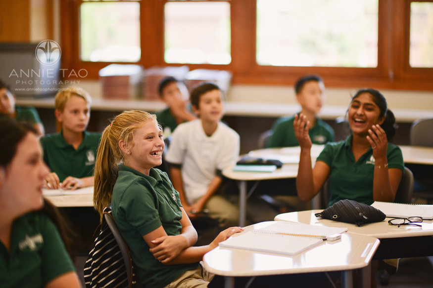 San-Francisco-Bay-Area-education-photography-students-reacting-to-fun-class-lesson