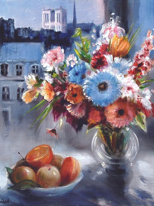 花とフルーツ
