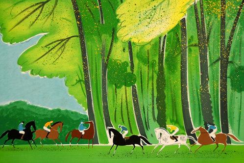 ラシュス 緑の森のカヴァリエ