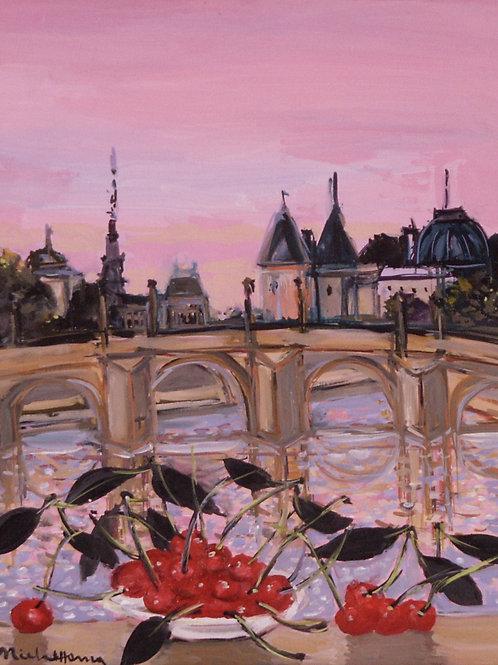 パリのセーヌ川 8号