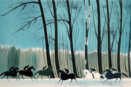 ラシュス 雪の森