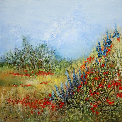 花咲く原野