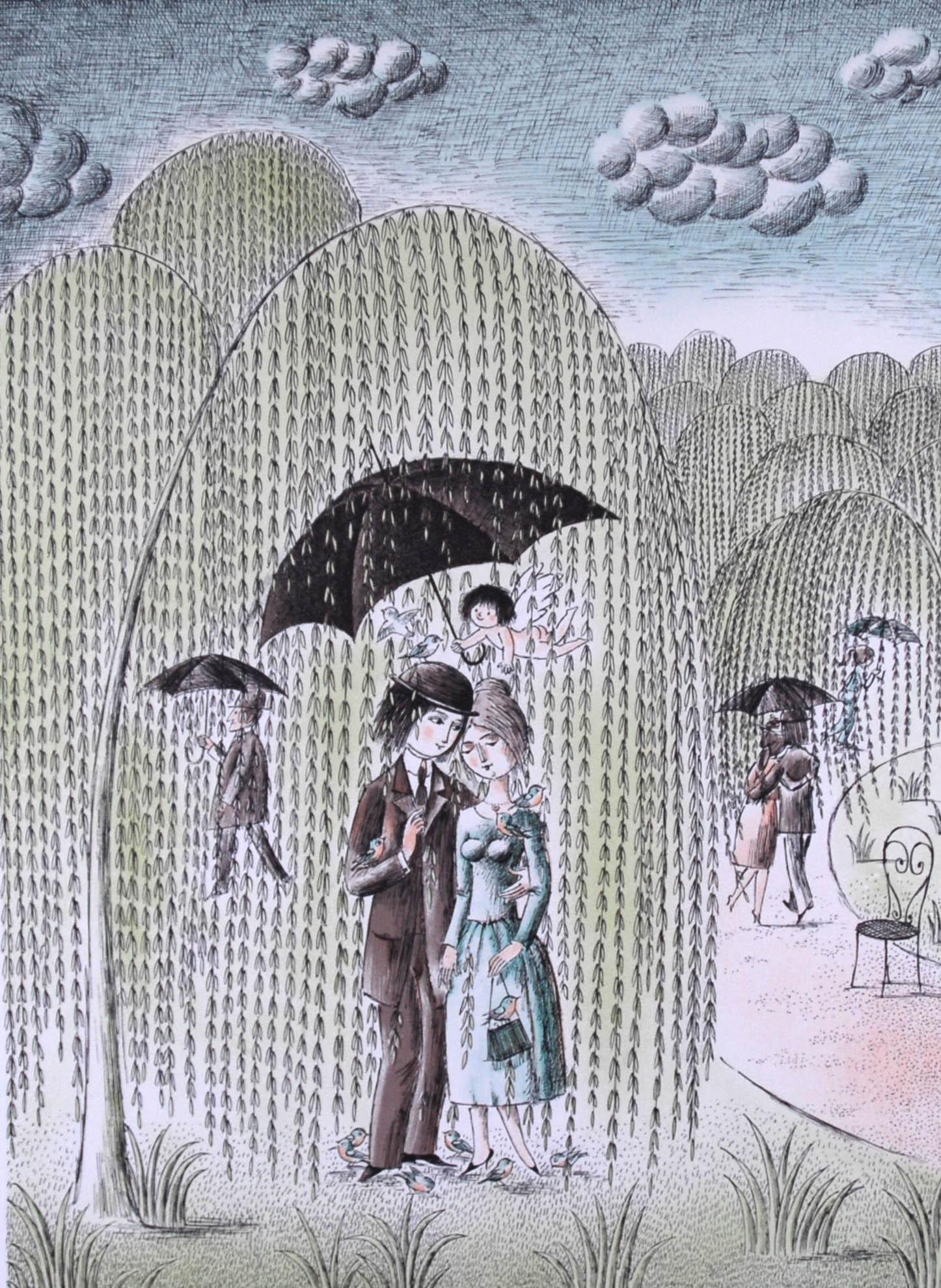ペイネ 雨に濡れても