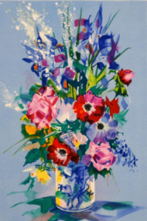クロード・マルス マジョルカ花瓶のブーケ