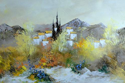 プロヴァンスの村 (10-47)